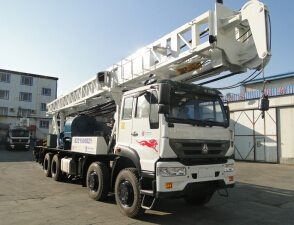 BZCY600BZY truck mounted drilling rig