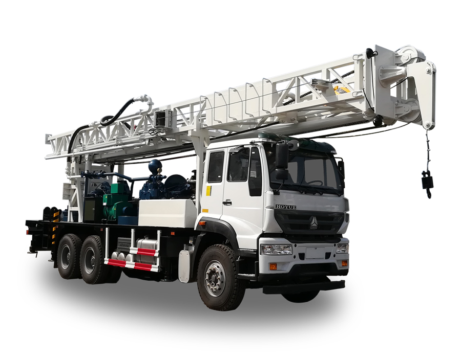 BZCY600CWY Truck-mounted  drilling rig