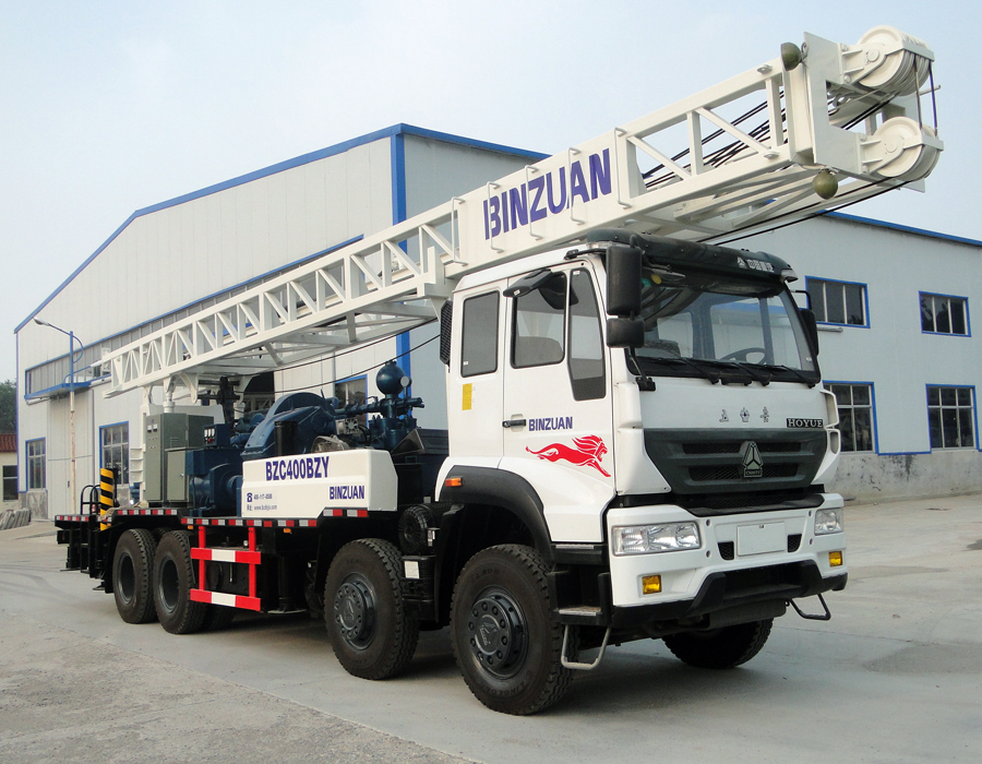 BZC400BZY truck mounted drilling rig