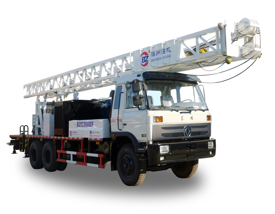 BZC350DF Truck mounted water well drilling machine