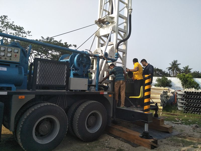 Successful commissioning BZCLY450ZY drill in Bangladesh
