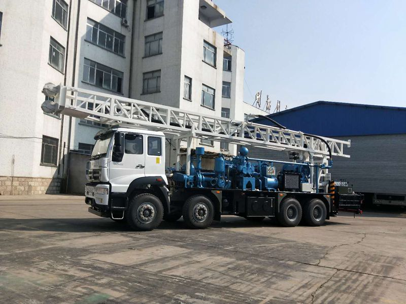 BZCLF450ZY water well drilling rig delivery smoothly