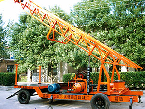 CGSL-300A engineering and water-well drilling rig