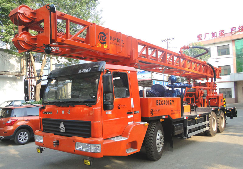 BZC400ZY  truck mounted drilling rig